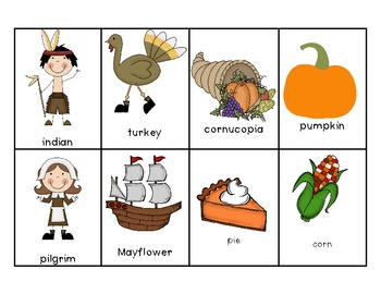 Thanksgiving Themed Literacy Centers