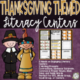 Thanksgiving Activities - Thanksgiving Centers - Literacy Centers