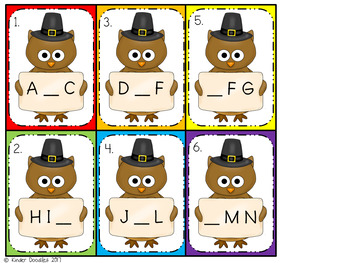 Thanksgiving Themed Literacy Centers - aligned to the CCSS