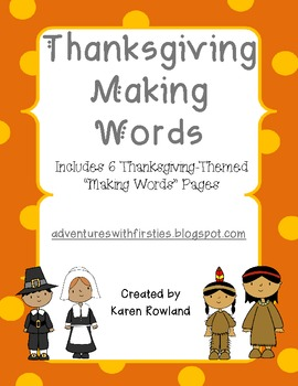 Thanksgiving-Themed Making Words