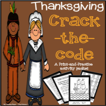 Thanksgiving Themed Math & Literacy Packet - Print & Practice