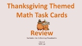 Thanksgiving Themed Math Review