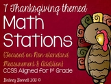 Thanksgiving Themed Math Stations