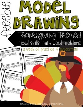 Free Thanksgiving Word Problems