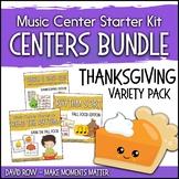 Thanksgiving Themed Music Center Starter Kit - Variety Pac