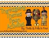 Thanksgiving Themed Noun Activities