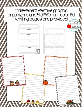 Thanksgiving Themed Opinion Writing Bundle (CCSS Aligned!)