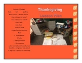 Thanksgiving Themed Packet
