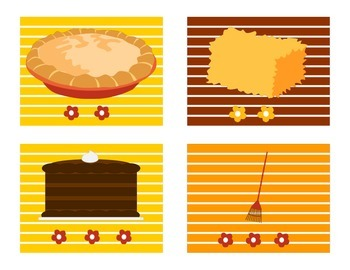 Thanksgiving Themed Phonological Awareness Activity--Segmenting Sounds