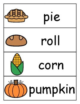 Thanksgiving Themed PreK and Kindergarten Centers and Activities