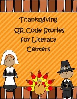 Thanksgiving Themed QR Code Stories *Mega Pack* for Listening Centers