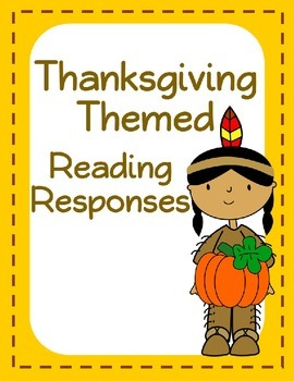 Free Thanksgiving Themed Reading Responses