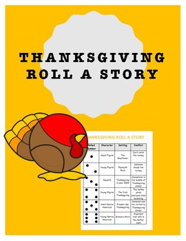 Thanksgiving Themed Roll A Story