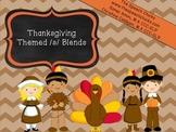 Thanksgiving Themed S & S Blends