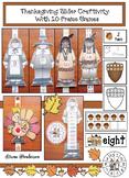 Thanksgiving-Themed Slider Craft & 10 Frame Games