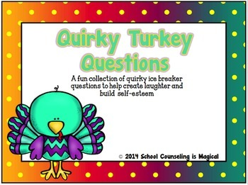 Thanksgiving Themed Social and Emotional Activity Bundle