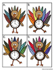 Thanksgiving Themed Telling Time Activity