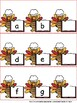 Thanksgiving Themed:  What's the Missing Letter Alphabet Literacy Center