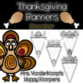 Thanksgiving Themed Writing Banners [[November]]