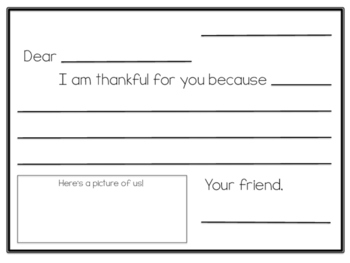 Thanksgiving Themed Writing Templates - Bundle!