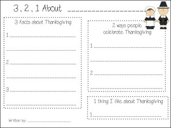 Thanksgiving & Then and Now 52 PAGE Bundle Pack