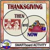 Thanksgiving Then and Now Smartboard Activity