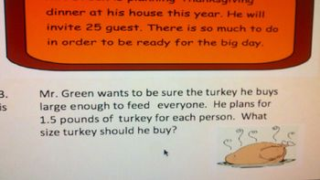 Thanksgiving Thoughts of Problem Solving