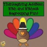Thanksgiving Three Digit Addition Activity!