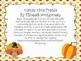 Thanksgiving Time Freebie