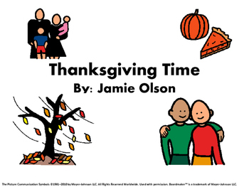 Thanksgiving Time Story