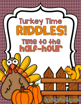 Thanksgiving Time to the Half Hour