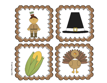 Thanksgiving Tiny Sight Word Hunt