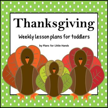 Thanksgiving Toddler Lesson Plan
