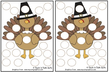 Thanksgiving Token Boards