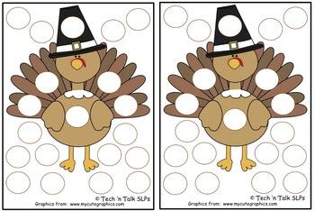 Thanksgiving Token Boards