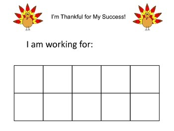 Thanksgiving Token Economy