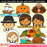 Thanksgiving Toppers Clip Art