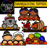 Thanksgiving Toppers {Creative Clips Digital Clipart}