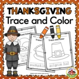 Thanksgiving Trace and Color Printables