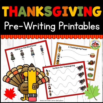 Thanksgiving Tracing Printables