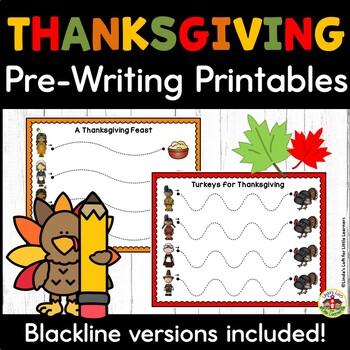 Thanksgiving Tracing Printables