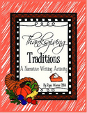 Thanksgiving Tradition Narrative Writing Activity