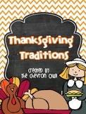 Thanksgiving Traditions FREEBIE