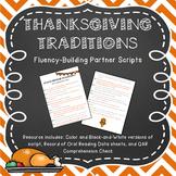 Thanksgiving Traditions: Fluency-Building Partner Script