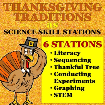 Thanksgiving Traditions: Science Skills Stations for grades 4-9
