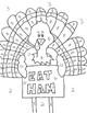 Thanksgiving Transversal Coloring Sheet