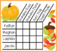 Thanksgiving Logic Puzzle for Young Gifted and Talented Students