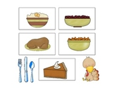 Thanksgiving Treasures Kindergarten High Frequency Words Game