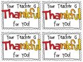 {FREEBIE} Thanksgiving Treat Tags