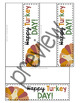 Thanksgiving Treat Toppers and Gift Tags